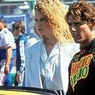 Tom Cruise and Nicole Kidman in Days of Thunder (1990)