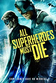 Lucas Till and Jason Trost in All Superheroes Must Die (2011)