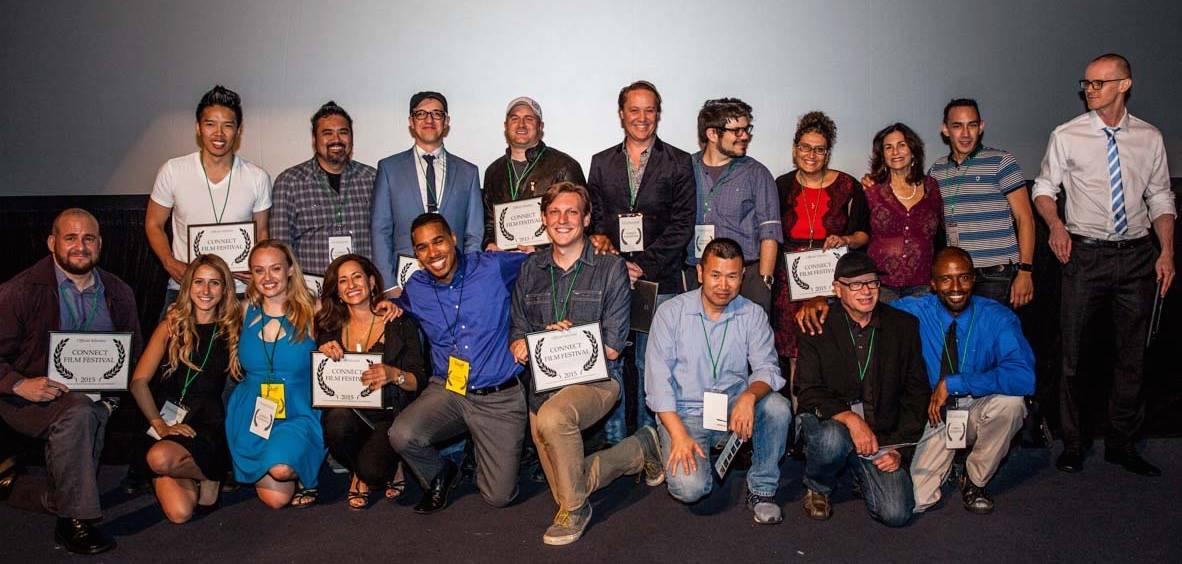 2015 - Filmmakers of the official selections in the Connect Film Festival - Downtown Independent Theater (Los Angeles).
