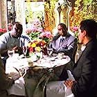 Vince Vaughn, Sean 'Diddy' Combs, Jon Favreau, and Faizon Love in Made (2001)
