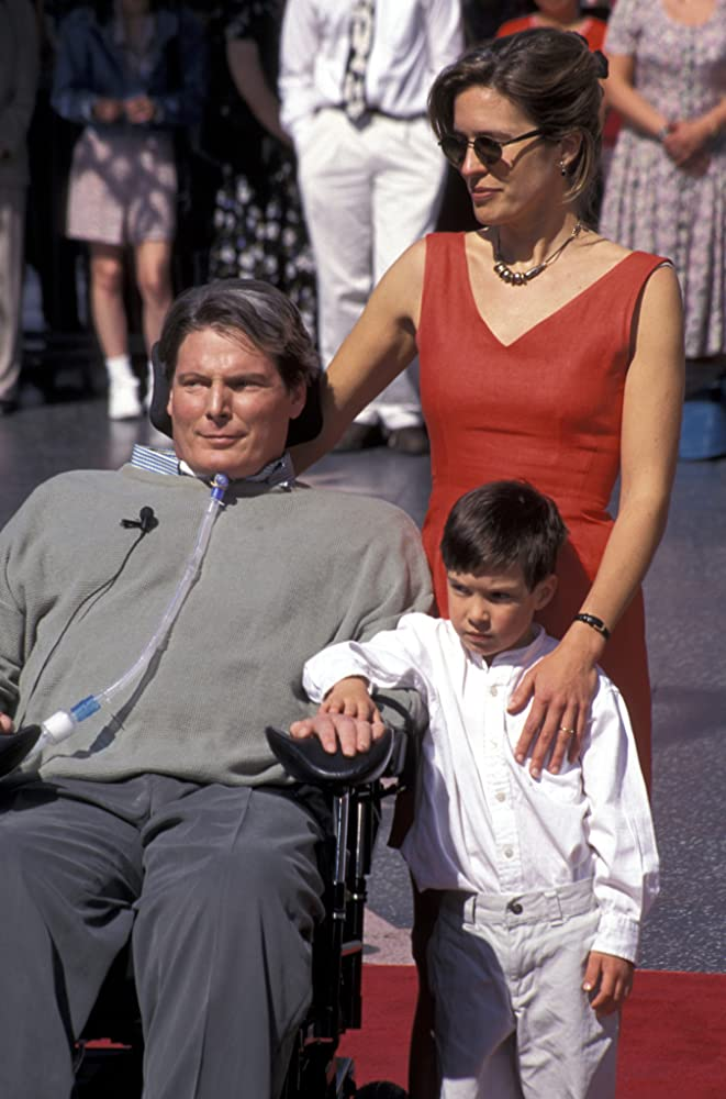 Christopher Reeve, Dana Reeve, and Will Reeve