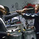 Leonard Roberts (left) and Nick Cannon (right)