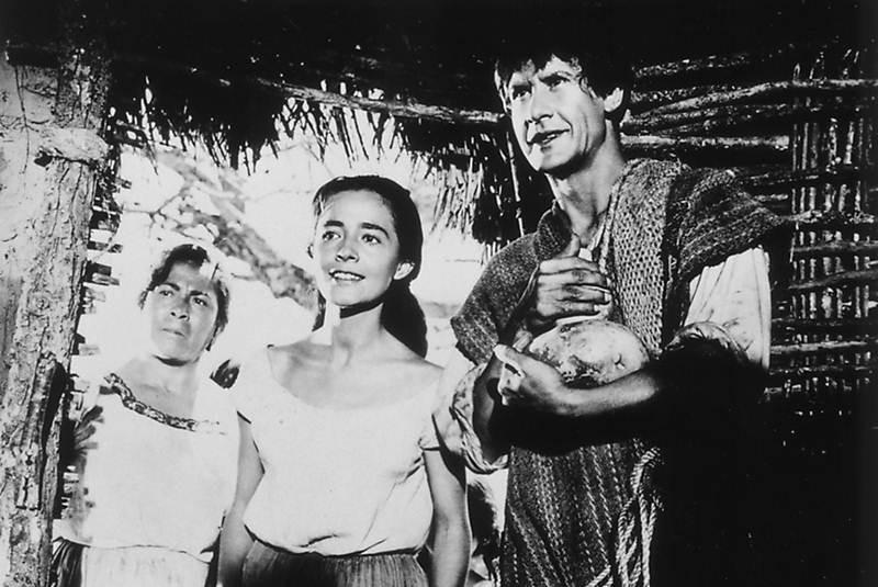 Ignacio López Tarso and Pina Pellicer in Macario (1960)