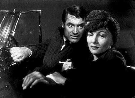 """""""Suspicion,"""" Cary Grant & Joan Fontaine. 1941 RKO"""
