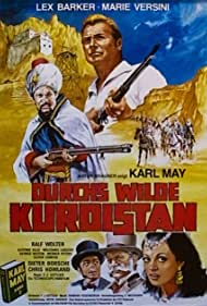 Lex Barker, Dieter Borsche, Artur Brauner, Franz Josef Gottlieb, Chris Howland, Karl May, Marie Versini, and Ralf Wolter in Durchs wilde Kurdistan (1965)