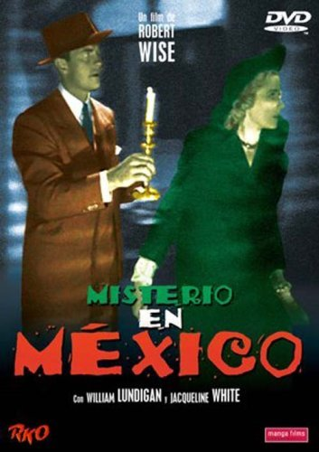 William Lundigan and Jacqueline White in Mystery in Mexico (1948)