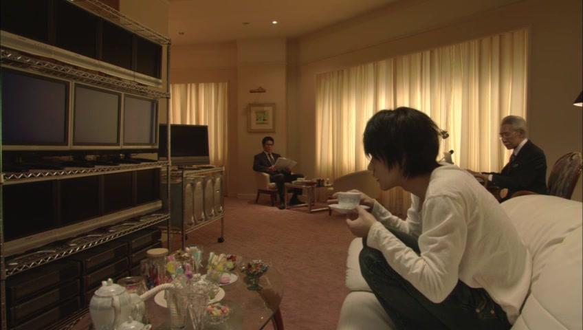 Shunji Fujimura and Ken'ichi Matsuyama in Death Note: Desu nôto (2006)
