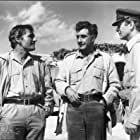 Michael Caine, Nigel Davenport, and Nigel Green in Play Dirty (1969)