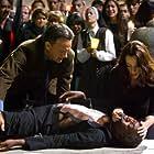 Tom Hanks, Ayelet Zurer, and Franklin Amobi in Angels & Demons (2009)