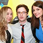 Griffin Newman, Bridey Elliott, and Clare McNulty at an event for Fort Tilden (2014)
