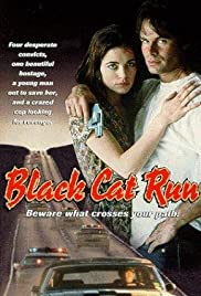 Black Cat Run Poster