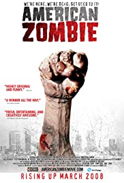 American Zombie Poster