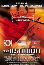 1st Testament CIA Vengeance Poster