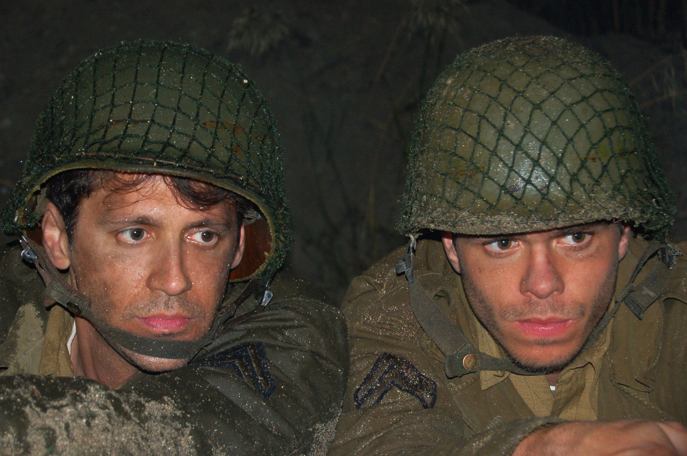 Still of Andy Hirsch and Matthew Lawrence in Fort McCoy