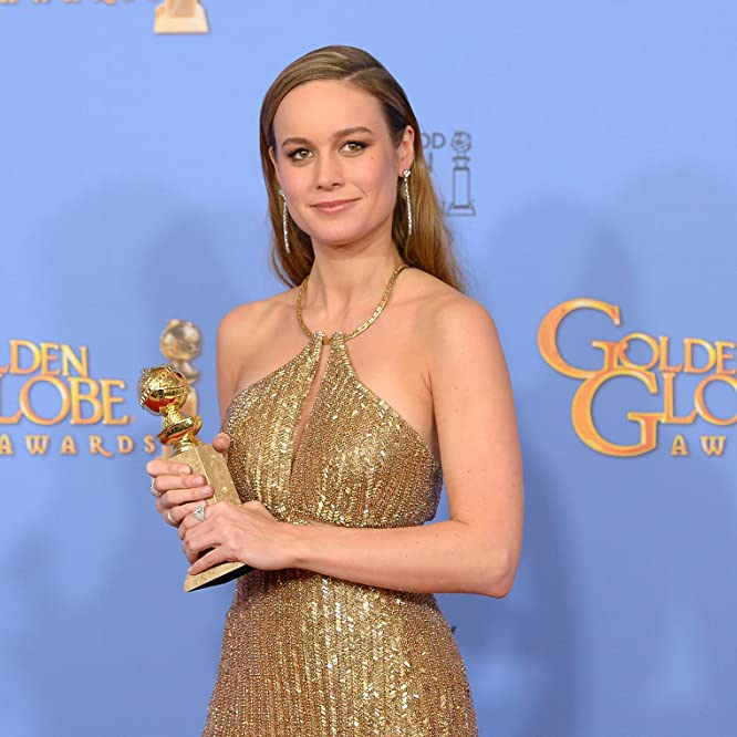 Brie Larson at an event for 73rd Golden Globe Awards (2016)