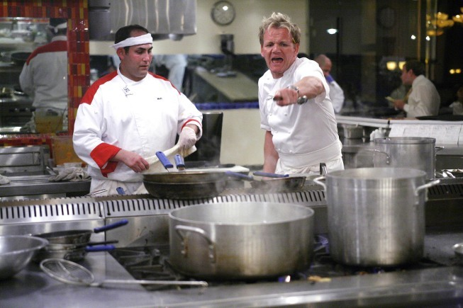 Gordon Ramsay in Hell's Kitchen (2005)