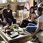 Stephen Guarino, Damon Wayans Jr., Adam Pally, and Casey Wilson in Happy Endings (2011)