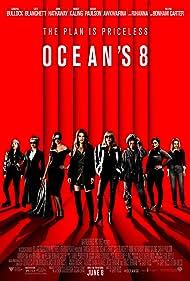 Sandra Bullock, Helena Bonham Carter, Cate Blanchett, Anne Hathaway, Sarah Paulson, Mindy Kaling, Rihanna, and Awkwafina in Ocean's Eight (2018)
