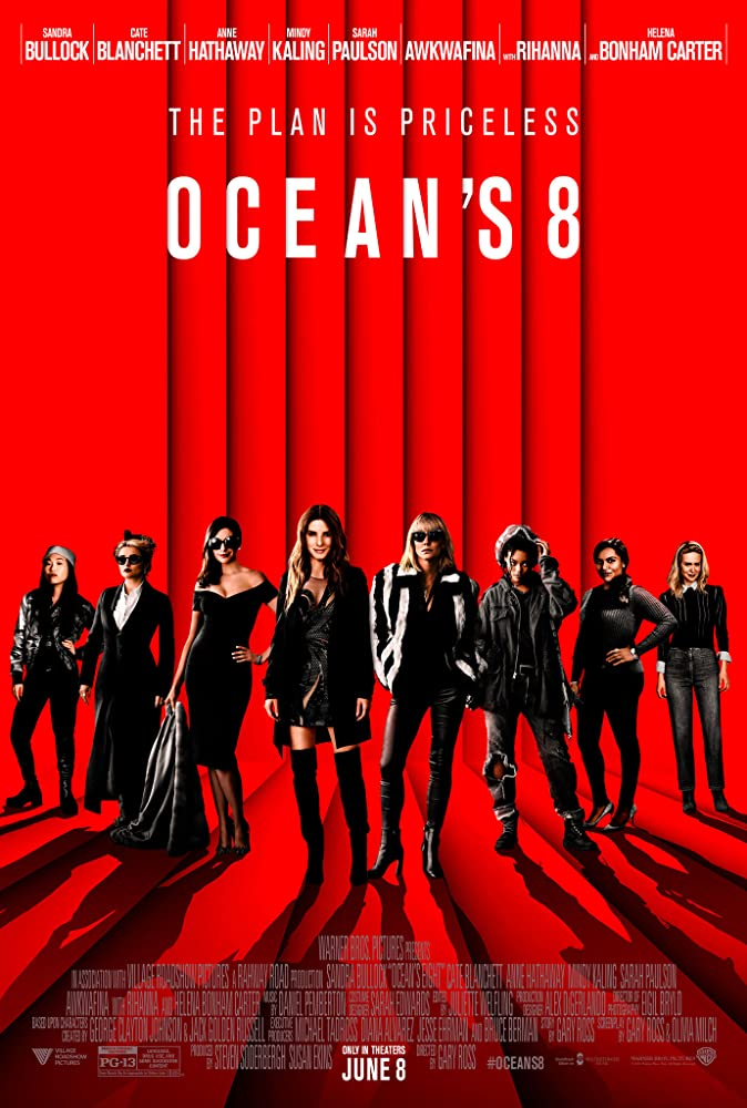Image Ocean's Eight (2018) Full Movie Watch Online HD Print Free Download