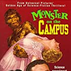 Arthur Franz, Joanna Moore, Eddie Parker, and Nancy Walters in Monster on the Campus (1958)