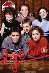 Vanessa King, Kristin Kreuk, Sarah Lind, Elana Nep, Grace Park, P.J. Prinsloo, and Dominic Zamprogna in Edgemont (2000)