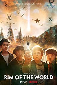 Benjamin Flores Jr., Jack Gore, Miya Cech, and Alessio Scalzotto in Rim of the World (2019)