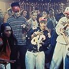 Rozonda 'Chilli' Thomas, Lisa 'Left Eye' Lopes, Christopher Martin, Christopher Reid, Tionne 'T-Boz' Watkins, and TLC in House Party 3 (1994)