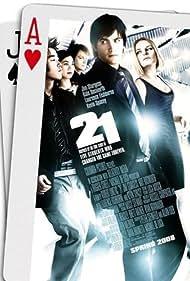 Kate Bosworth, Liza Lapira, Jacob Pitts, Jim Sturgess, and Aaron Yoo in 21 (2008)