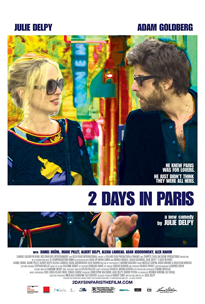 Julie Delpy and Adam Goldberg in 2 Days in Paris (2007)