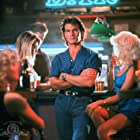 Patrick Swayze and Julie Michaels in Road House (1989)