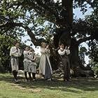 (Left to right) Nick Roud, Joe Prospero, Freddie Highmore, Kate Winslet and Johnny Depp