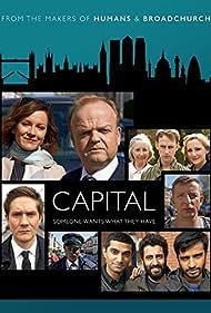 Gemma Jones, Toby Jones, Lesley Sharp, and Robert Emms in Capital (2015)