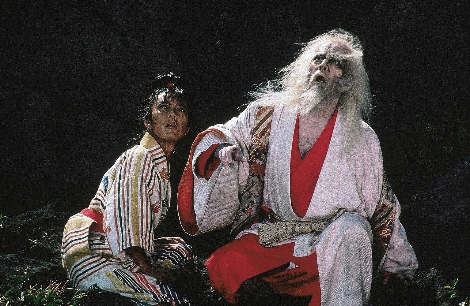 Tatsuya Nakadai and Pîtâ in Ran (1985)