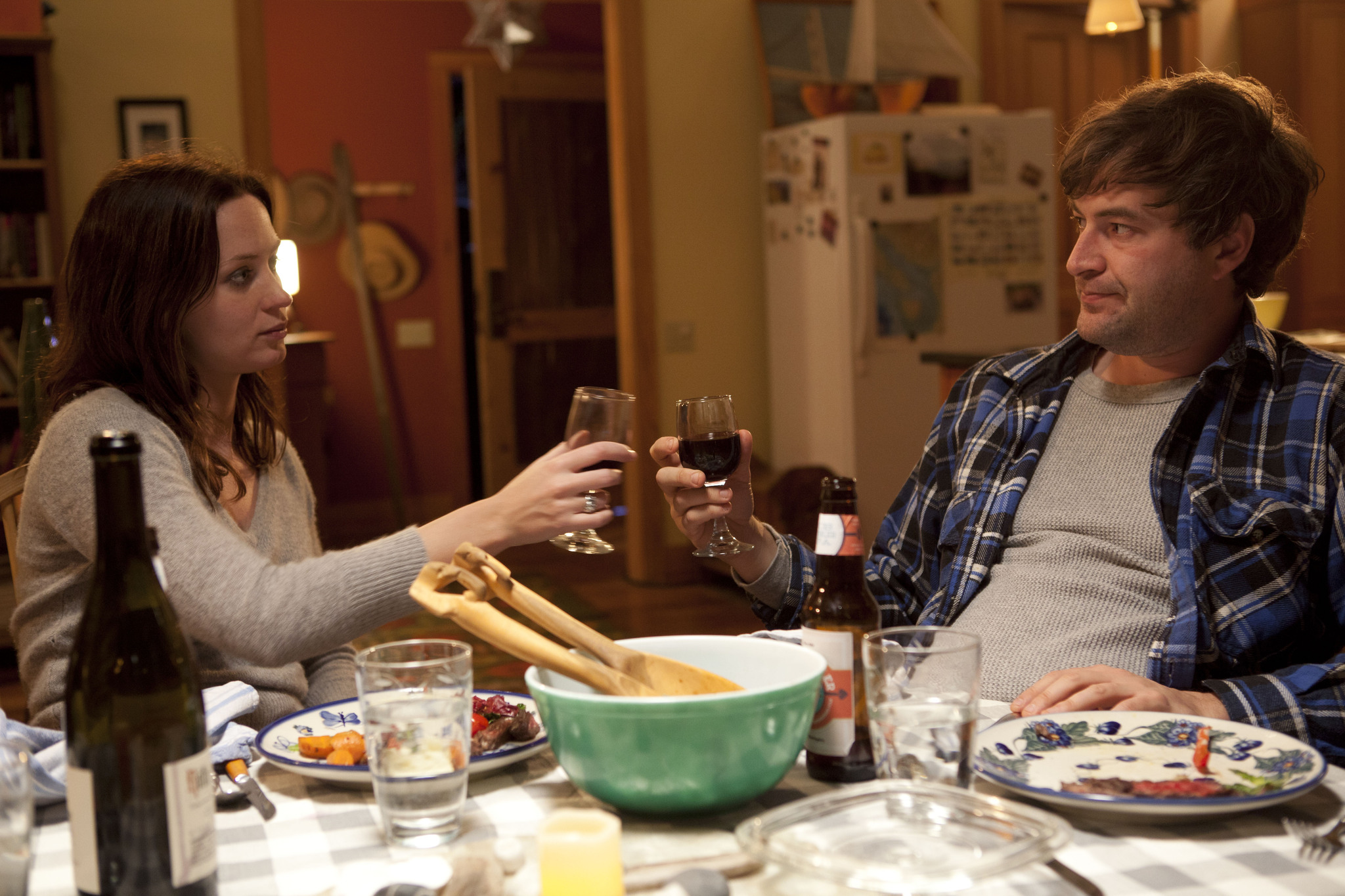Mark Duplass and Emily Blunt in Your Sister's Sister (2011)