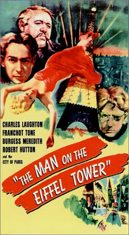 Charles Laughton in The Man on the Eiffel Tower (1949)
