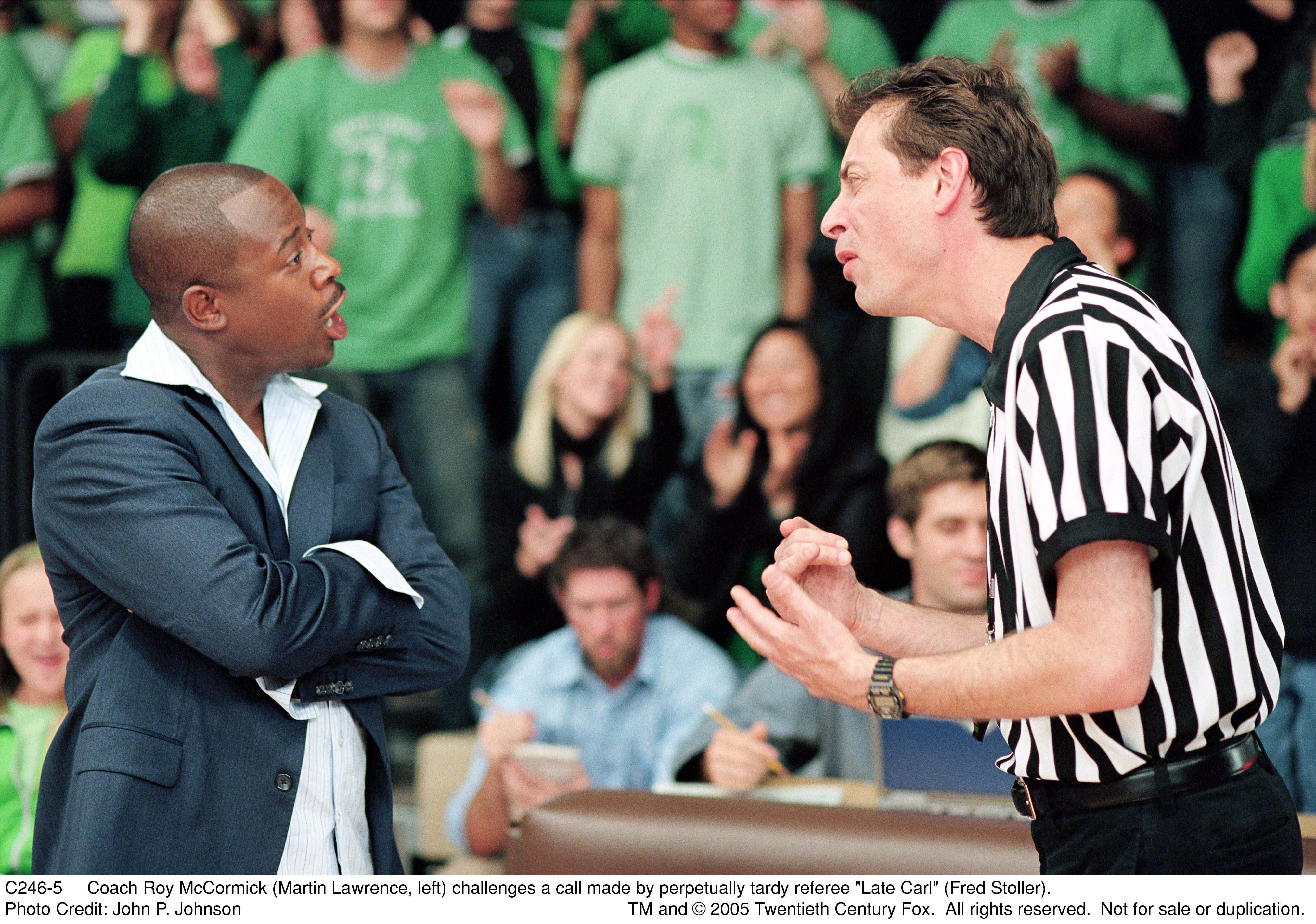 Martin Lawrence and Fred Stoller in Rebound (2005)