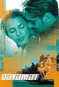 Ajay Devgn and Neha Dhupia in Qayamat: City Under Threat (2003)