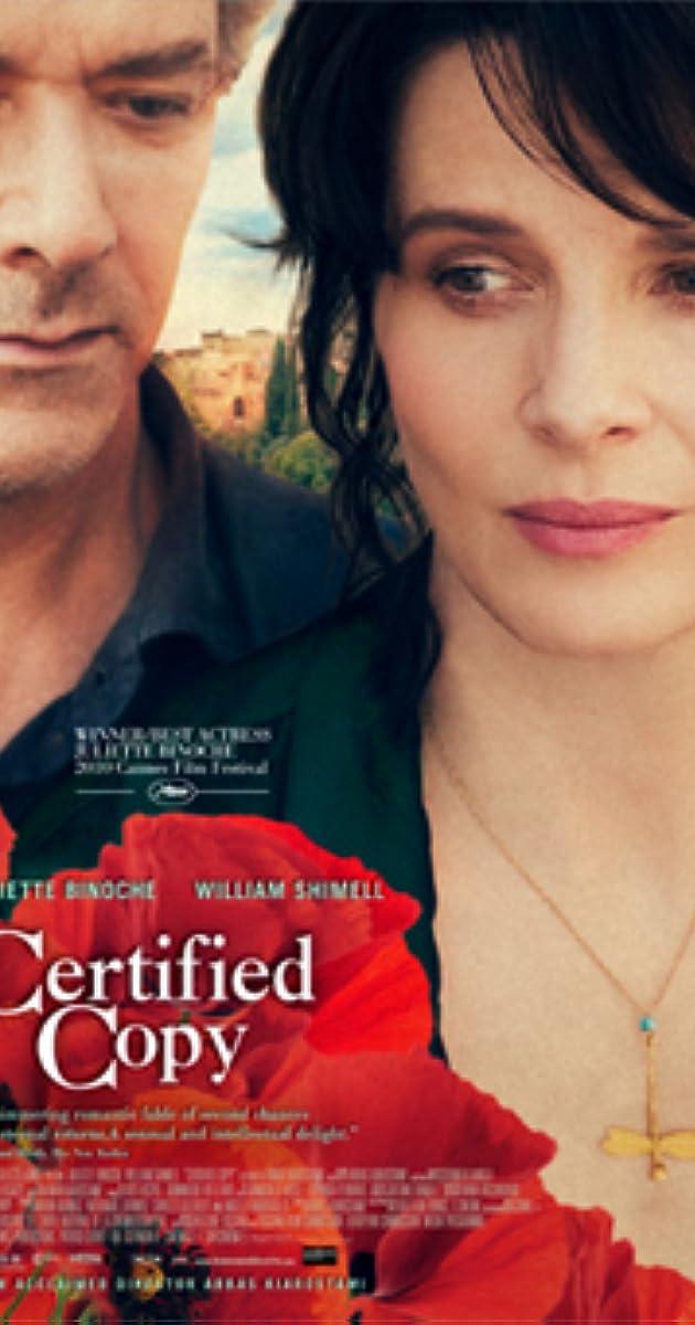 Subtitle of Certified Copy