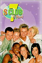 S Club 7 in Miami Poster