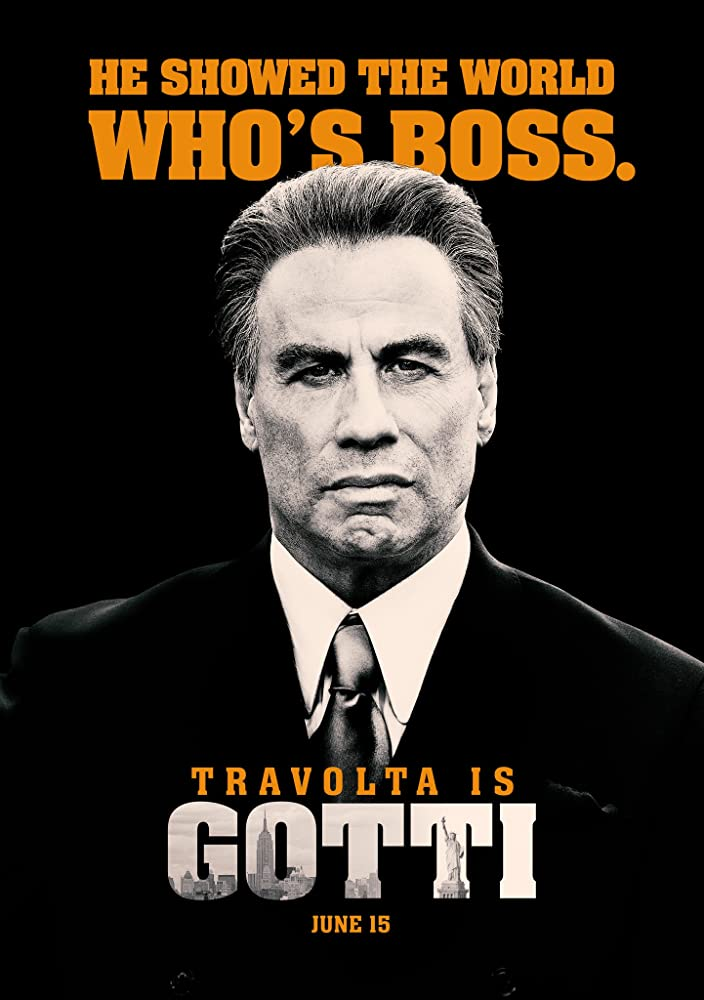John Travolta in Gotti (2018)