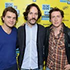 David Gordon Green, Emile Hirsch, and Paul Rudd at an event for Prince Avalanche (2013)