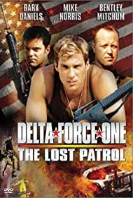 Gary Daniels, Bentley Mitchum, and Mike Norris in Delta Force One: The Lost Patrol (2000)