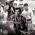 Kenji Mizoguchi, Kazuo Miyagawa, and Masayuki Mori in Ugetsu monogatari (1953)