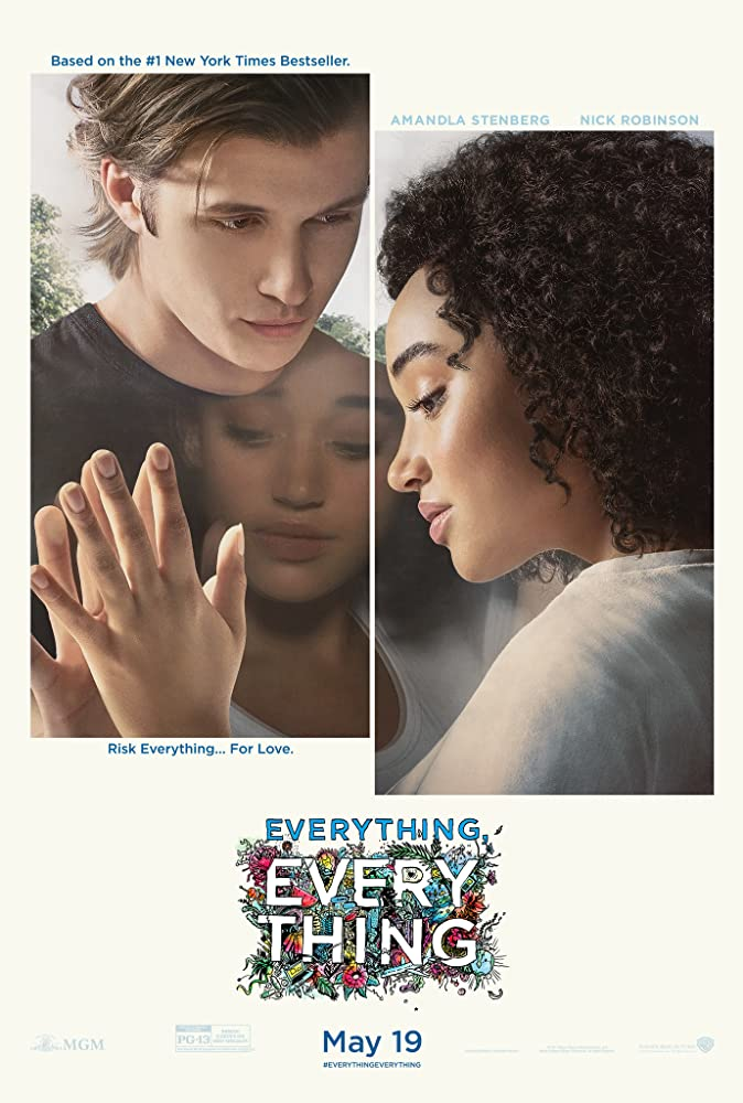 Nick Robinson and Amandla Stenberg in Everything, Everything (2017)