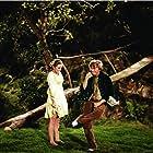 Barbara Hancock and Tommy Steele in Finian's Rainbow (1968)