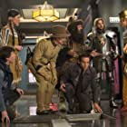 Robin Williams, Ben Stiller, Patrick Gallagher, Mizuo Peck, Dan Stevens, Skyler Gisondo, and Rami Malek in Night at the Museum: Secret of the Tomb (2014)