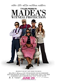 Denise Richards, Eugene Levy, Romeo Miller, and Tyler Perry in Madea's Witness Protection (2012)