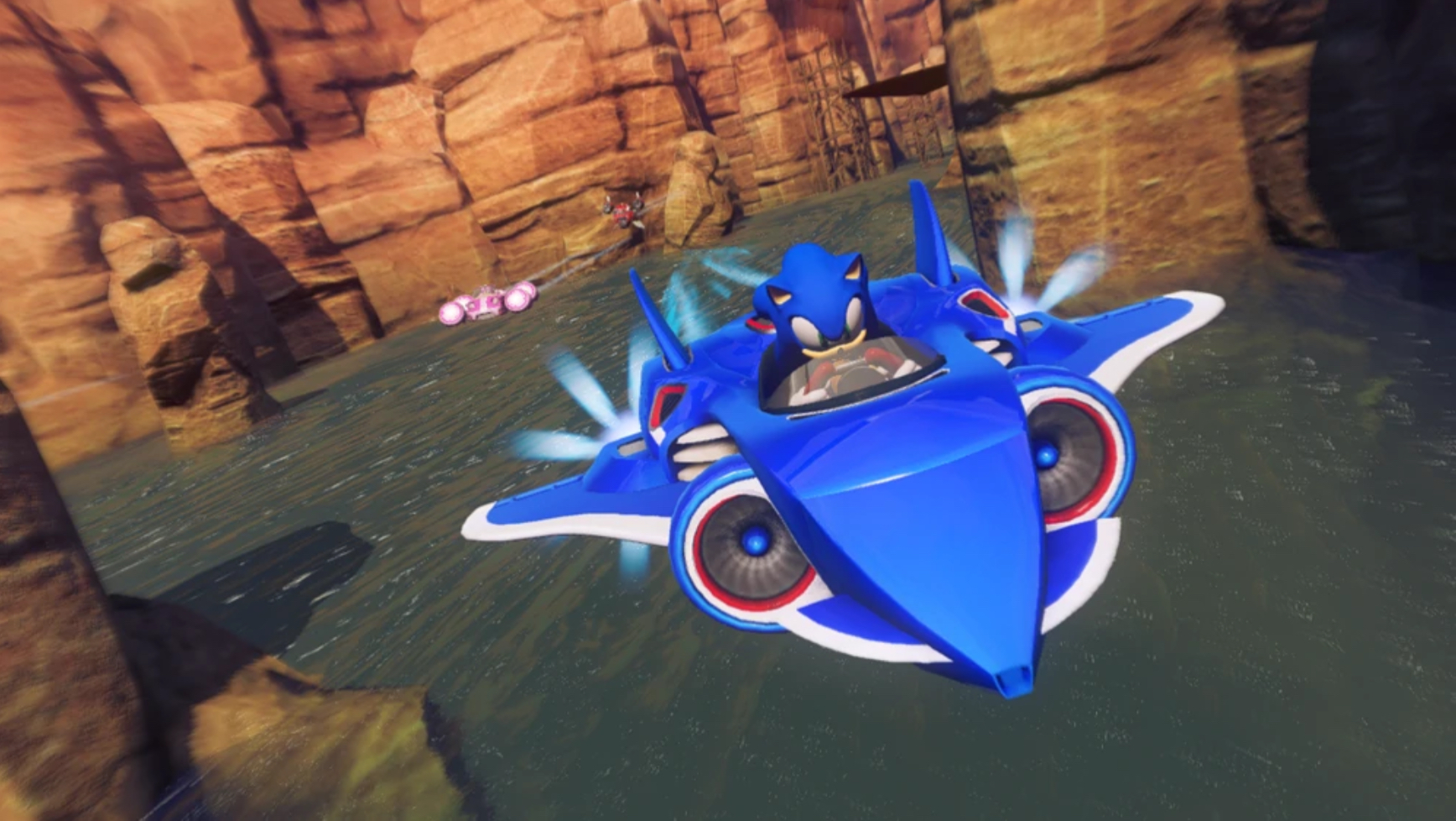 Roger Craig Smith in Sonic & All-Stars Racing Transformed (2012)