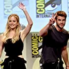 Jennifer Lawrence and Liam Hemsworth at an event for The Hunger Games: Mockingjay - Part 2 (2015)