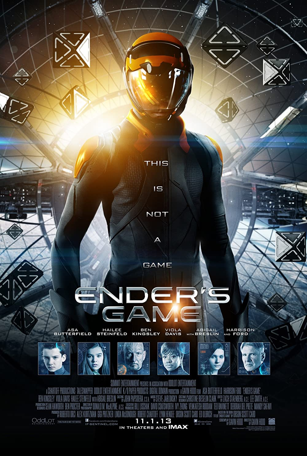 Poster film Ender's Game.